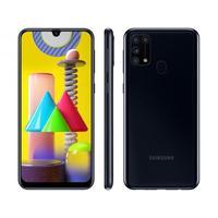 "Smartphone Samsung Galaxy M31 SM-M315 128GB 4G Dual Chip 6,4"" Desbloqueado Android 10 Preto"