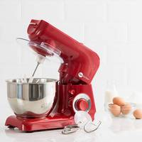 Batedeira Power Machine 600w Vermelha Fun Kitchen