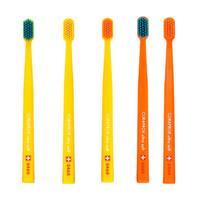 Escova Dental Curaprox Ultra Soft CS 5460 Amarela e Laranja