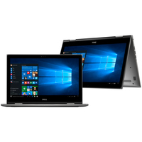 Notebook 2 em 1 Dell Inspiron i15-5578-B10C Intel Core i5-7200U 8GB 1TB 2,5GHz LED 15,6 Windows 10 Cinza
