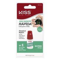 Cola Secagem Rápida First Kiss Cola De Unha 3g