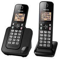 Telefone Panasonic KX-TGC352LAB Identificador de Chamadas Preto + Ramal