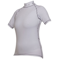 Camisa Flets Sport Pro Layer Manga Curta Feminina Branca