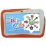 Tablet DL e-Duk Kids 4GB 7 Wi-Fi Android 4.1 Branco + Capa Laranja