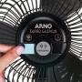 Circulador de Ar Arno Turbo Silêncio Repelente CC95 40cm Preto